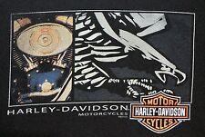 OFFICIAL HARLEY-DAVIDSON MOTORCYCLES PAWTUCKET, RI T-SHIRT - XL - BLACK