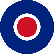 British RAF Plane Roundel ( Type C ) Exterior Vinyl Model Plane Aircraft Decals