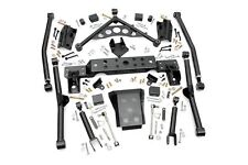 "4"" Long Arm Upgrade Kit for Jeep Grand Cherokee WJ 1999-2004 Rough Country"