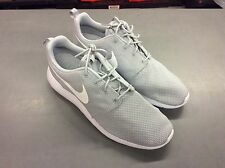 Nike Men's Roshe One Running Shoes Wolf Grey/White Size 9.5 D