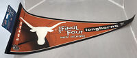 Texas Longhorns NCAA 2003 Final Four Felt Pennant New Orleans Basketball VTG