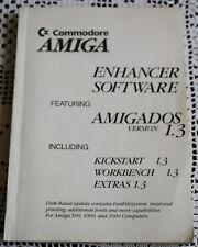 Commodore AMIGA ENHANCER SOFTWARE (Buch/Book), Englisch