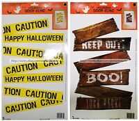 DOLGENCORP* Decor DOOR WINDOW CLING Decoration HALLOWEEN Reusable *YOU CHOOSE*