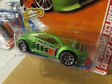 Hot Wheels Mitsubishi Eclipse Concept Car Thrill Racers Green w/2 Car Bands