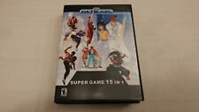 15 in 1 Multicart for Sega Genesis - Primal Rage - Street Fighter - Fatal Fury +