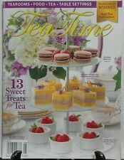 Tea Time July Aug 2016 13 Sweet Treats For Tea Table Settings FREE SHIPPING sb