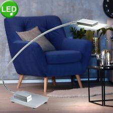 LED Schreib Tisch Leuchte Büro ALU Glas Lese Lampe Nacht-Licht beweglich EEK A