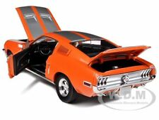 1968 FORD MUSTANG GT FASTBACK ORANGE W/SILVER 10F999 1/18 CAR GREENLIGHT 50830