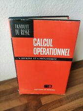 Ditkine Proudnikov Calcul Opérationnel Operationnel Mir Moscou 1979