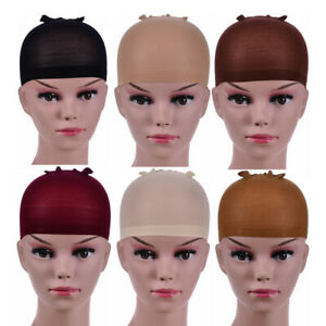 chic 2 Pcs/Pack Wig Cap Hair net for Weave Hairnets Nets Stretch Mesh Wig Cap