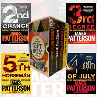 James Patterson Collection 4 Books Vol 2-5 Gift Wrapped Slipcase 2nd Chance NEW