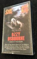 Ozzy Osbourne Bark At The Moon Cassette 1983 Vintage Sabbath CBS Metal