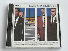 Music To Watch Girls By - Various Artists (2 x CD Album) Used Very Good