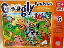Master Kids Pieces 48Piece Puzzle with 6 Googly Eyes Puzzle