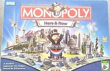 Monopoly Here and Now Edition 2006 Board Game Las Vegas Hollywood Starbucks