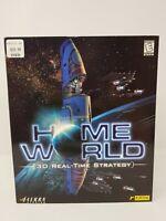 Homeworld (1999) Windows PC Game CD-ROM Sierra 3D Realtime Strategy Big Box