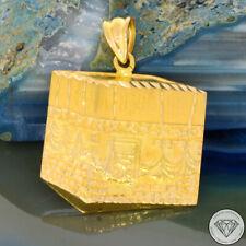 SONDERAKTION WERT 1.180,- Mekka Kaaba Haddsch 875 | 21 Karat Gold Anhänger XXYY