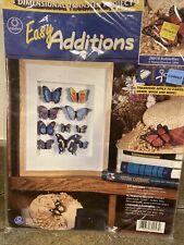 3 dimentional  butterfly transfer project Iron On Transfer Butterflies Kit