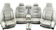 🌟Audi A8 D3 4E Beige Grey Leather Complete Interior Set Seats Memory Door Cards