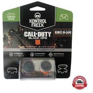 Kontrol Freek Xbox One Controller Performance Grip COD Black Ops IV Gray 2pc New