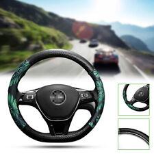 1PC Non-slip 38CM Car Steering Wheel Cover Four Seasons Handlebar Holster D Type