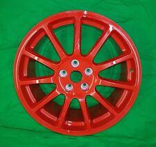 "Genuine RENAULT MEGANE RS Trophy 19"" Inch Speedline Alloy Wheel - Red Turini"