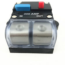 300 AMP 12V DC Inline Car Circuit Breaker Replace Fuse for Truck Marine Boat