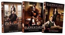 Elementary: Seasons 1-3 (DVD, 2015, 18-Disc Set)