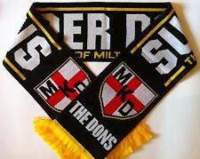 MK DONS Football Scarve NEW from Superior Acrylic Yarns