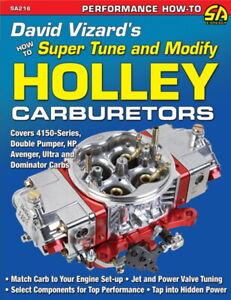 How To Super Tune & Modify Holley Carburetors - David Vizard - Book SA216