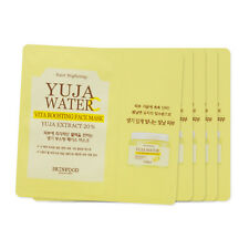[Sample] [Skin Food] Yuja Water C Vita Boosting Face Mask x 5PCS