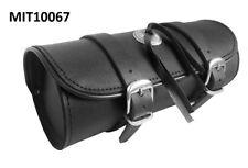 Motorrad Werkzeugrolle Tool Bag Gepäckrolle Chopper (Universal) robustes Leder