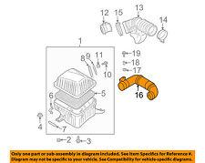 KIA OEM 03-06 Sorento 3.5L-V6 Air Cleaner Intake-Air Duct Tube Hose 282003E000