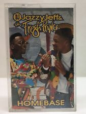 Homebase D.J. Jazzy Jeff & The Fresh Prince 1991 Cassette Tape 1392-4-J