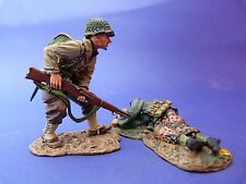 King & Country (retired) - D.DAY 44 - DD098 - Soldat américian et mort allemand