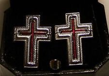 Medieval Masonic Sir Knight Templar Award Medal Uniform Cross Pin Emblem Seal KT