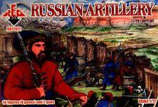 Red Box 1/72 Russisch Artillerie 17. Century #72072