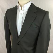 "Recent HUGO BOSS 42R Sport Coat ""Gable / Vegas"" Gray Wool Two Button Suit Jacket"