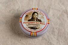 3 tins Navajo Medicine Of The People Peppermint Lip Balm Dry Lips - 0.75 oz each
