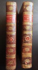 Fénelon – Avventure di Telemaco (en italien) relié, 1804