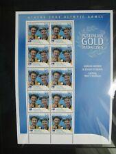 Australia 2004. Athens Olympics. Ryan Bayley Individual Sprint Sheet Mint.