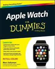 APPLE WATCH FOR DUMMIES by Marc Saltzman BRAND NEW on hand IN AUSTRALIA!