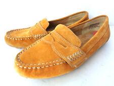 Zapatos planos de mujer amarillos de ante   Compra online en
