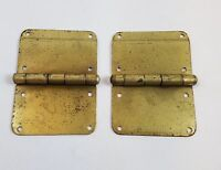 Pair of Made in Maine Stitched Leather TRUNK handles TH04 steamer trunk repair