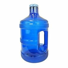 1 Gallon BPA FREE Reusable Plastic Drinking Water Big Mouth Bottle - Dark Blue