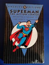 Dc Archive Editions Superman The Action Comics Vol.3 New Sealed Hc Msrp $49.95