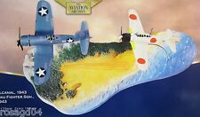 Corgi Guadalcanal 2 Plane Corsair F4U-1-Mitsubishi A6M2 Zero + Diorama 1:72 (F2)