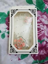 Iphone 3gs hard case stylish fancy pink rose new cover UK
