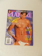 Playgirl April 2002 Magazine Vin Diesel Hot Bodied Jamie Gabel Yvan Cournoyer