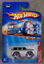Hot Wheels ~ 2005 First Editions ~ Blimgs ~ Mercedes-Benz G500 ~ Silver